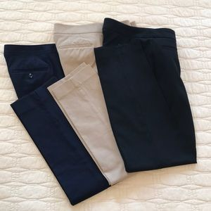 Talbots professional bundle size 8 black tan navy
